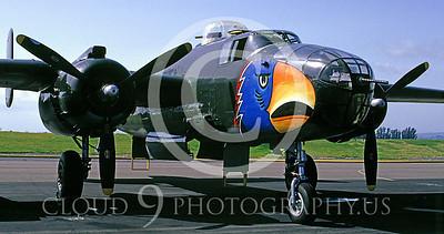 WSP-MA 00365 North American B-25 Mitchell Parott Head by Peter J Mancus