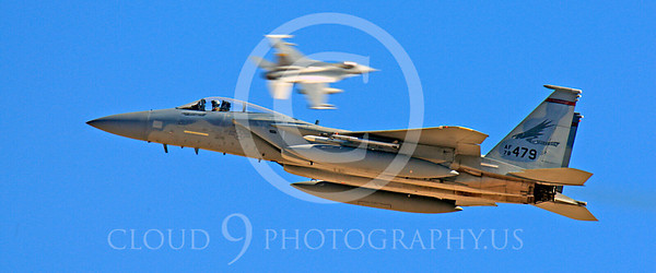 WSP-MA 00009 McDonnell Douglas F-15 Eagle Portland Oregon Air National Guard 78479 by Peter J Mancus