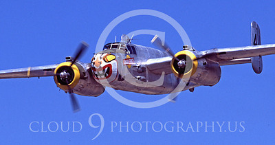 WSP-MA 00430 North American B-25 Mitchell Sunday Punch by Peter J Mancus
