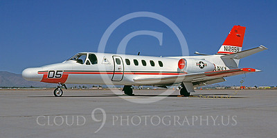 WSP-MA 00017 Cessna 550 Citation II US Navy N12859 April 1985 by Bob Shane