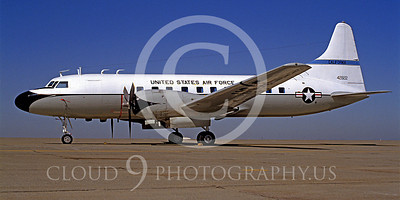 WSP-MA 00011 Convair C-131 Samaritan California Air National Guard 42822 by Carl E Porter