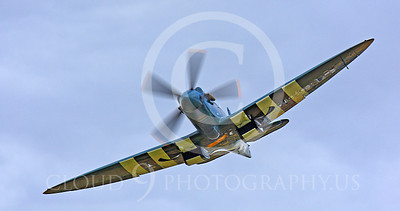 WSP-MA 01038 Vickers-Supermarine Spitfire British RAF warbird by Peter J Mancus