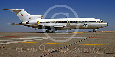 WSP-MA 00013 Boeing 727 Royal New Zealand Air Force N27271 Travis AFB August 1983 by Carl E Porter