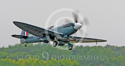 WSP-MA 00120 Vickers-Supermarine Spitfire British RAF warbird by Peter J Mancus