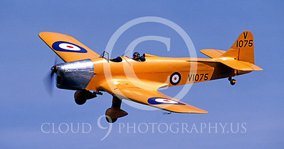 WSP-MA 00102 Miles M14A Magister British RAF warbird by Peter Elliott