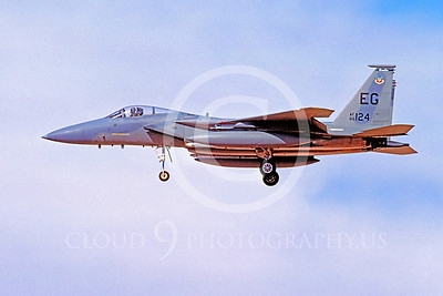 MiGK 00018 McDonnell Douglas F-15 Eagle USAF ONE KILL 85124 May 1997 by Peter J Mancus