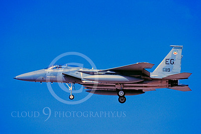 MiGK 00020 McDonnell Douglas F-15 Eagle USAF 85119 ONE KILL May 1997 by Peter J Mancus