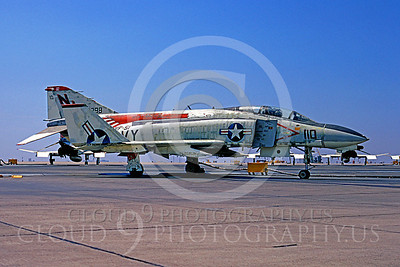 MiGK 00005 McDonnell Douglas F-4 Phantom II USN VF-51 USS Coral Sea ONE KILL by Peter J Mancus