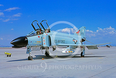 MiGK 00017 McDonnell Douglas F-4 Phantom II Oregon ANG 40776 THREE KILLS July 1983 by Bob Shane