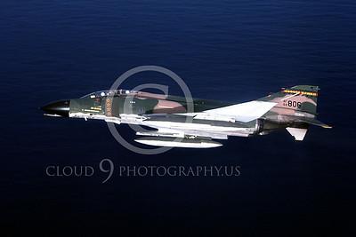 MiGK 00008 McDonnell Douglas F-4 Phantom II Hawaii ANG 64806 FOUR KILLS by Peter J Mancus