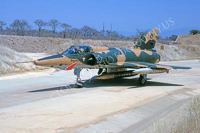 SM 00043 Dassault Mirage III South African Air Force October 1990 via African Aviation Slide Service