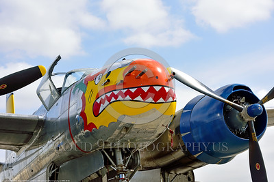 SM-A-26 003 A colorful static sharkmouth Douglas A-26 Invader warbird picture by Peter J  Mancus
