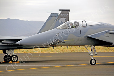 SM 00017 McDonnell Douglas F-15 Eagle Oregon Air National Guard by Peter J Mancus