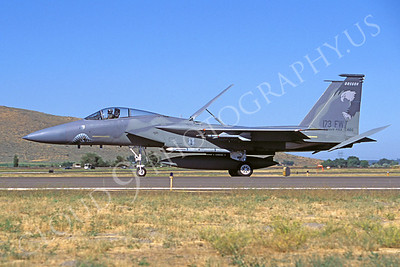 SM 00147 McDonnell Douglas F-15 Eagle Oregon Air National Guard 173rd Fighter Wing Kingsley Field by Peter J Mancus