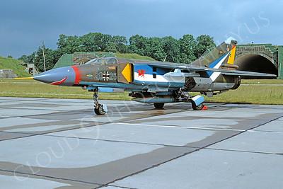 SM 00079 Mikoyan-Guryevich MiG-23 Flogger German Air Force 2026 July 1991 by Meinolf Krassort via African Aviation Slide Service