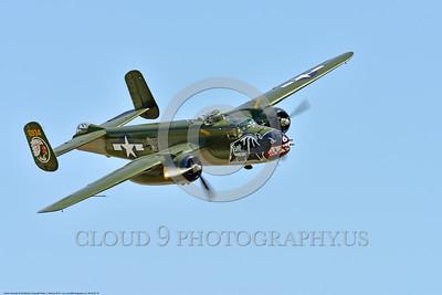 SM-B-25 00018 A flying colorful sharkmouth North American B-25 Mitchell BETTY'S DREAM at Chino Planes of Fame 2016 airshow warbird picture by Peter J  Mancus