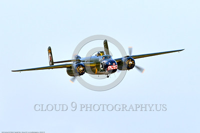 SM-B-25 00016 A flying colorful sharkmouth North American B-25 Mitchell BETTY'S DREAM at Chino Planes of Fame 2016 airshow warbird picture by Peter J  Mancus