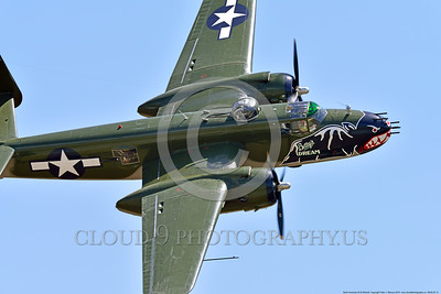 SM-B-25 00014 A flying colorful sharkmouth North American B-25 Mitchell BETTY'S DREAM at Chino Planes of Fame 2016 airshow warbird picture by Peter J  Mancus