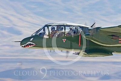 WB-OV-10 00010 North American AOV-10 Bronco by Peter J Mancus