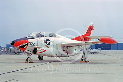 SM 00067 North American T-2C Buckeye USN 158608 VT-3 Andrews AFB 23 June 1973 by Frank MacSorley