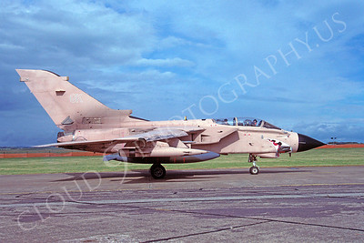 SM 00115 Panavia Tornado British RAF Desert Storm veteran August 1991 via African Aviation Slide Service