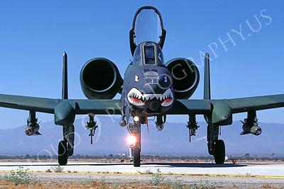 SM 00129 Fairchild A-10 Thunderbolt II Warthog USAF George AFB by Peter J Mancus