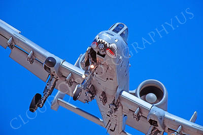 SM 00002 Fairchild A-10 Thunderbolt II Warthog USAF by Peter J Mancus