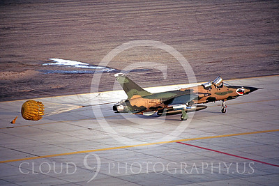 CHUTE 00045 Republic F-105G Thunderchief WildWeasel Georgia ANG March 1985 by Peter J Mancus