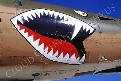 SM 00023 Republic F-105G Wild Weasel Georgia Air National Guard by Peter J Mancus