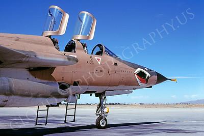 SM 00008 Republic F-105G Thunderchief Georgia Air National Guard July 1980 by Peter J Mancus