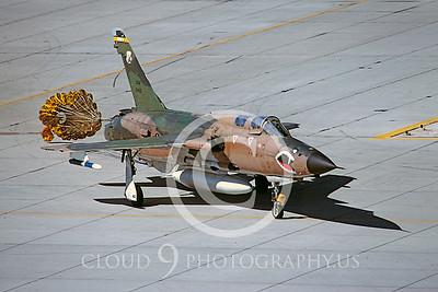 CHUTE 00099 Republic F-105G Thunderchierf Georgia ANG by Peter J Mancus