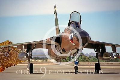 CHUTE 00055 Republic F-105G Thunderchief Georgia ANG Dec 1981 by Peter J Mancus