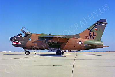 SM 00077 Vought  A-7D Corsair II USAF 71360 by Peter J Mancus