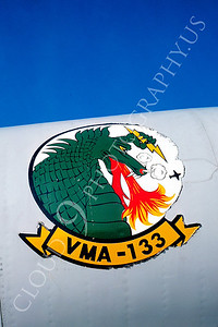 SWCI 00009 VMA-133 on Douglas A-4 Skyhawk USMC by Peter J Mancus
