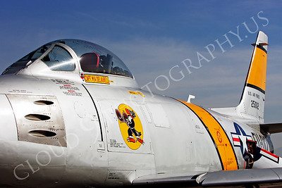 SWCI 00006 Boxing Buzzard on USAF F-86F Sabre by Peter J Mancus