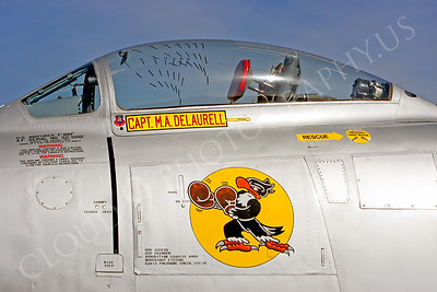 SWCI 00004 Boxing Buzzard on USAF F-86 FSabre by Peter J Mancus