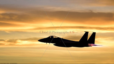 USAF F-15 Eagle Silhouette Pictures