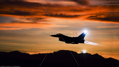 USAF F-16 Fighting Falcon Silhouette Pictures
