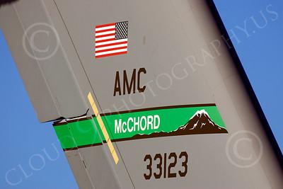 TAILS 00060 USAF Boeing C-17 Globemaster III tail markings, by Peter J Mancus