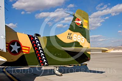 TAILS 00053 Douglas A-1 Skyraider by Peter J Mancus