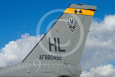 TAILS 00049 Lockheed Martin F-16 USAF by Peter J Mancus