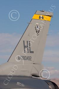 TAILS 00047 Lockheed Martin F-16 USAF by Peter J Mancus