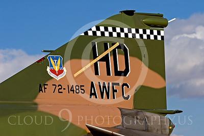 TAILS 00045 McDonnell Douglas QF-4E Phantom II USAF by Peter J Mancus