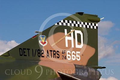 TAILS 00046 McDonnell Douglas QF-4E Phantom II USAF by Peter J Mancus