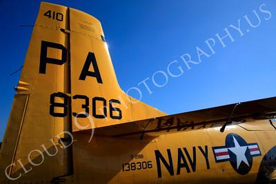 TAILS 00129 North American T-28B Trojan US Navy by Peter J Mancus