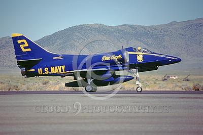 BA-A-4 00005 Douglas A-4 Skyhawk 2 Sept 1983 by Peter B Lewis