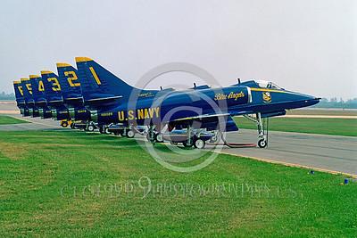BA-A-4 00003 Douglas A-4  Skyhawk by Peter J Mancus