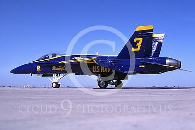 BA-F-18 00001 McDonnell Douglas F-18 El Centro 1987 by Peter J Mancus