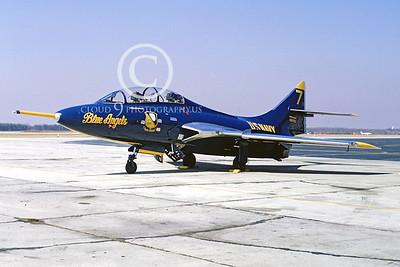 BA-F9F-8T Cougar 00001 Grumman F9F-8T Cougar Sept-1966 by Frank MacSorley