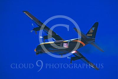 BA-C-130 00010 Lockheed C-130 Hercules Sept 1983 by Carl E Porter